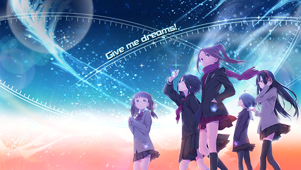 収録楽曲02.Give me dreams!